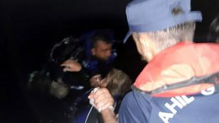 Bodrum'da kaçak göçmen botu battı! Kayıplar var...