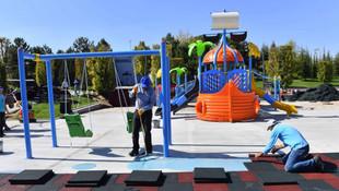 Başkent'te engelli oyun park alanlarının sayısı artıyor