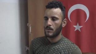 Teslim olan YPG'li teröristten itiraflar