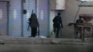 Resulayn'daki teröristlerin kaçış anı görüntülendi