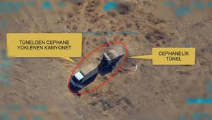 MSB paylaştı ! YPG'li teröristler böyle vuruldu