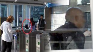 Metrobüste iğrenç taciz ! Genç kız çığlık attı