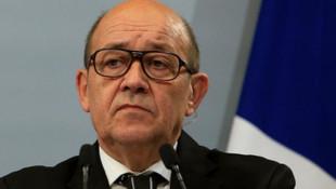 Fransa Dışişleri Bakanı Drian'dan Türkiye hamlesi