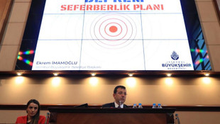 İmamoğlu'ndan ''Deprem seferberliği'' açıklaması
