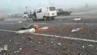 Bursa'da sis kazası: Ölü ve yaralılar var