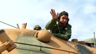 Barış Pınarı Harekatı'nda Mehmetçik'in mesajı mest etti