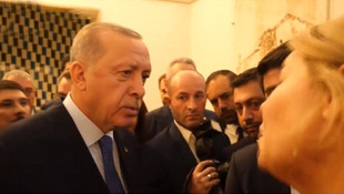 Erdoğan'dan ''Endişeli misiniz ?'' diyen Amerikalı muhabire yanıt