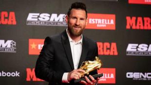 Lionel Messi 6. kez Altın Ayakkabı'nın sahibi oldu