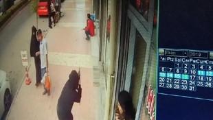 Elazığ'da pompalı tüfekle saldırı kamerada