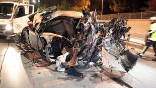 Ankara'da dehşete düşüren kaza