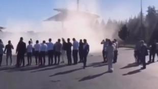 Başakşehir'de lüks araçlı, çakarlı düğün konvoyu terörü