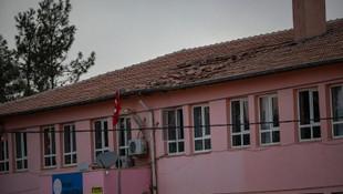 Teröristler durmuyor ! Şanlıurfa'da okula havanlı saldırı