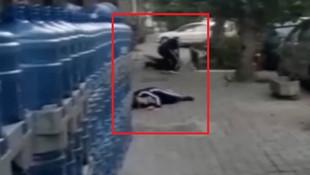 Korkunç görüntü ! Önce cinayet sonra intihar !