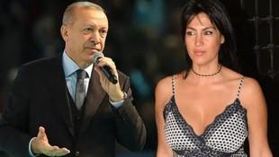 Tuğba Ekinci'den Cumhurbaşkanı Erdoğan paylaşımı