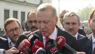 Erdoğan'dan ABD ile anlaşma sonrası ilk açıklama