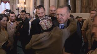 Cumhurbaşkanı Erdoğan'ı şaşırtan anlar