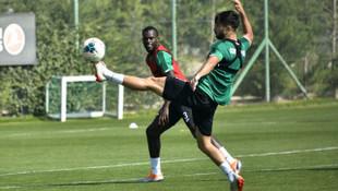İttifak Holding Konyaspor, şut ve gol çalıştı