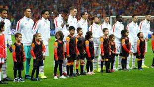 PSG'nin yıldızları Galatasaray tribünlerine hayran kaldı