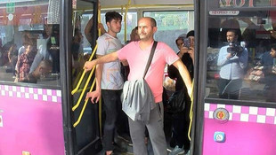 İstanbul'da halk otobüsünde alarm: Kimse inmesin binmesin