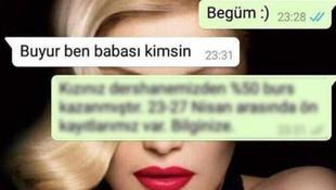 WhatsApp'tan kızına gelen mesaja cevap verdi Türkiye onları konuştu