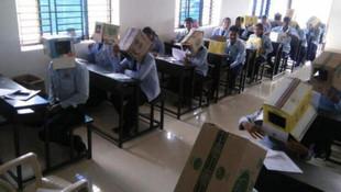 Sınıf öğretmeninin ''kopya'' tedbirine tepki yağdı