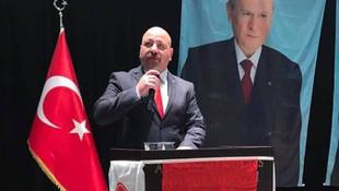 MHP'li başkan kazara kendisini vurdu !