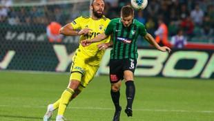 Vedat Muriç Fenerbahçe'de farkını gösterdi