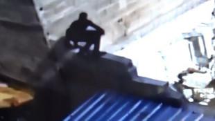 Gerçek ''örümcek adam'' Türkiye'de görüldü!