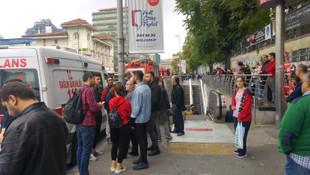 İstanbul metrosunda korkunç ölüm!