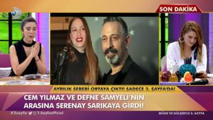 Cem Yılmaz Defne Samyeli aşkını Sereney Sarıkaya mı bitirdi ?