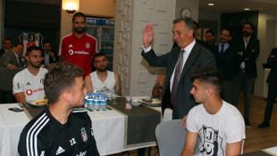 Çebi takımla buluştu, Abdullah Avcı kararını açıkladı!