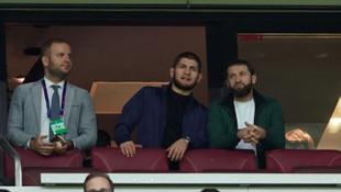 Khabib Nurmagomedov Galatasaray - Real Madrid maçını takip etti