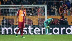 Galatasaray'ın Avrupa kupalarındaki galibiyet hasreti 10 maça çıktı