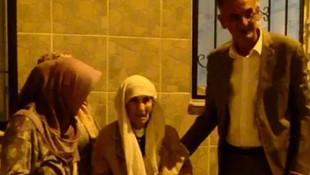 94 yaşındaki yaşlı kadını öz evlatları gece yarısı sokağa attı!