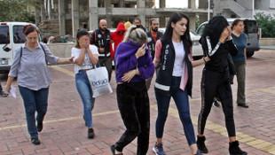 Daha 17 yaşındalar... Alanya'da fuhuş operasyonu: 6 gözaltı