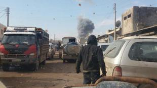 Teröristler Azez'e saldırdı: 4 şehit!