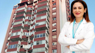 İzmir'de kadın doktorun feci ölümü