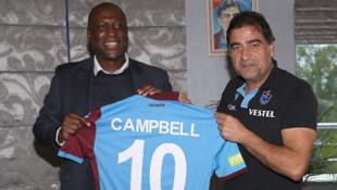 Kevin Campbell, Trabzonspor'u ziyaret etti