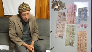 91 yaşındaki dilencinin üstünden çıkan para şoke etti