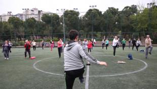 Kadıköylüler güne sporla başlıyor