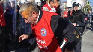 Eskişehir'de işçilere polis müdahalesi: 30 gözaltı