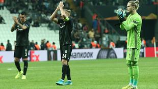 Beşiktaş'a derbi öncesi Avrupa darbesi ! Maç sonucu: 2-1