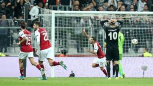 Beşiktaş 1 - 2 Braga