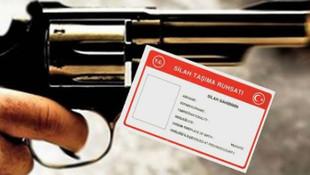 Silah ruhsatına yeni düzenleme