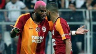 Beşiktaş - Galatasaray derbisinde Babel ile Belhanda tartıştı
