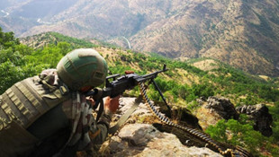 Tunceli'de 1 terörist öldürüldü