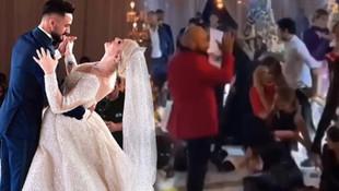 Selin Ciğerci ile Gökhan Çıra evlendi ! Gelin çiçeği attı, ortalık karıştı