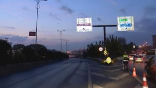 İstanbullular dikkat ! Bu yollar trafiğe kapatıldı