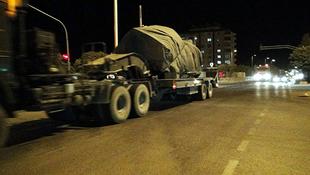 Suriye sınırında dikkat çeken sevkiyat