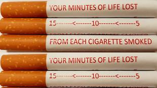 Sigaralara tek tek uyarı yazısı geliyor!